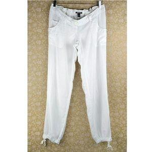 H&M Linen Drawstring Pants